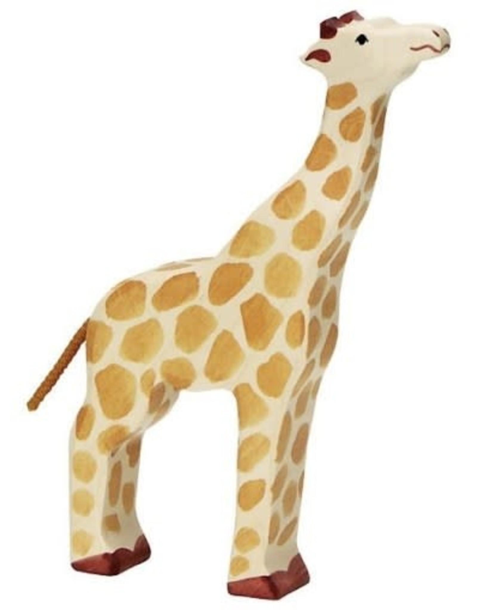 Holztiger Holztiger Giraffe Head Raised