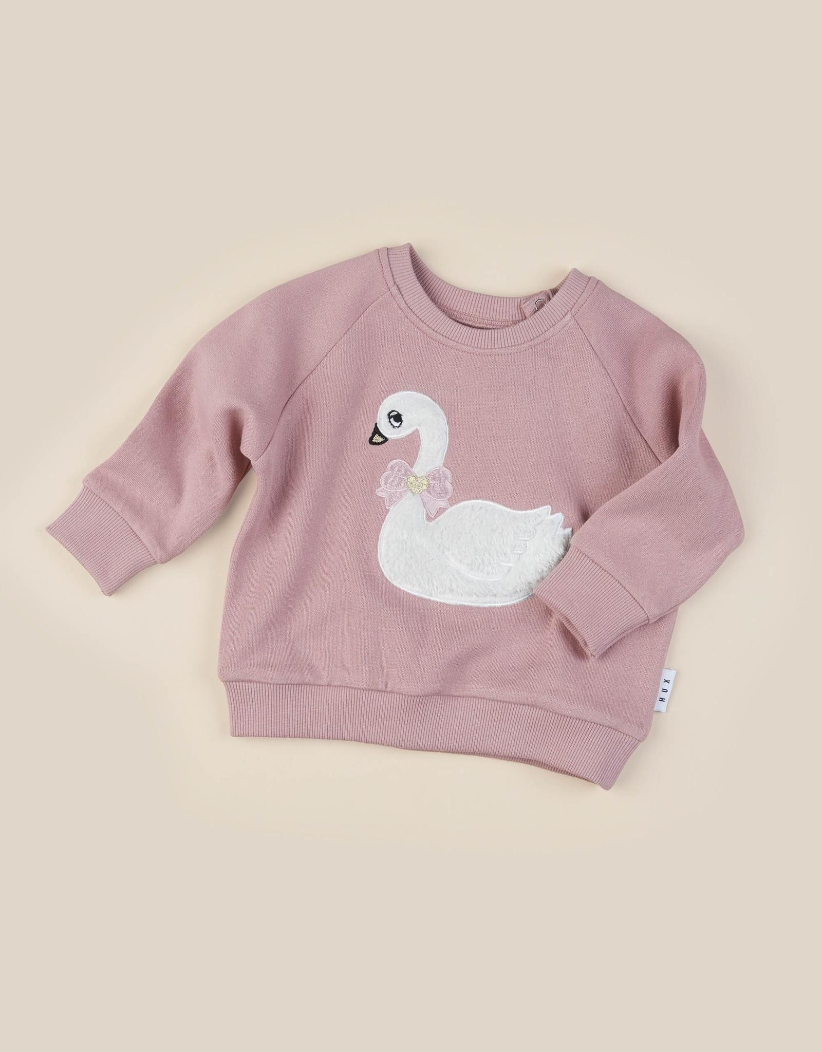 Hux Baby Hux Baby Swan Sweatshirt