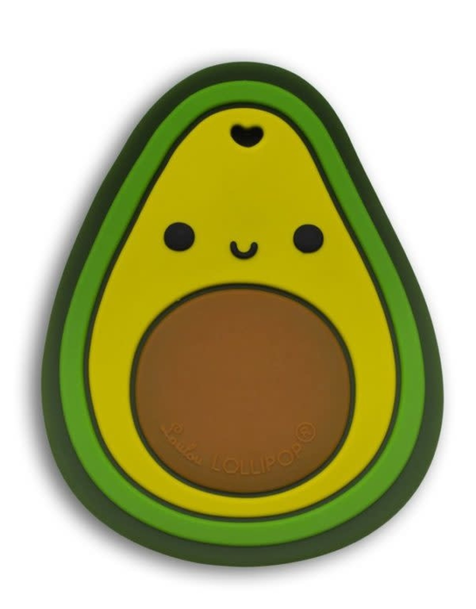 LouLou Lollipop LoulouLOLLIPOP Avocado Silicone Teether Single