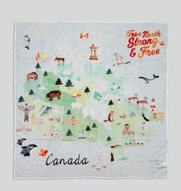 LouLou Lollipop LoulouLOLLIPOP Muslin Swaddle Canada