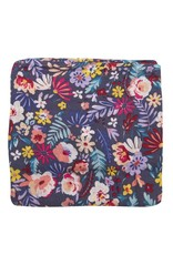 LouLou Lollipop LoulouLOLLIPOP Muslin Swaddle Dark Field Flowers