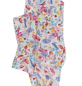 LouLou Lollipop LoulouLOLLIPOP Muslin Swaddle Light Field Flowers