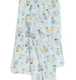 LouLou Lollipop LoulouLOLLIPOP Muslin Swaddle Up Up Away