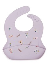 LouLou Lollipop LouLouLOLLIPOP Silicone Bib Printed Butterfly