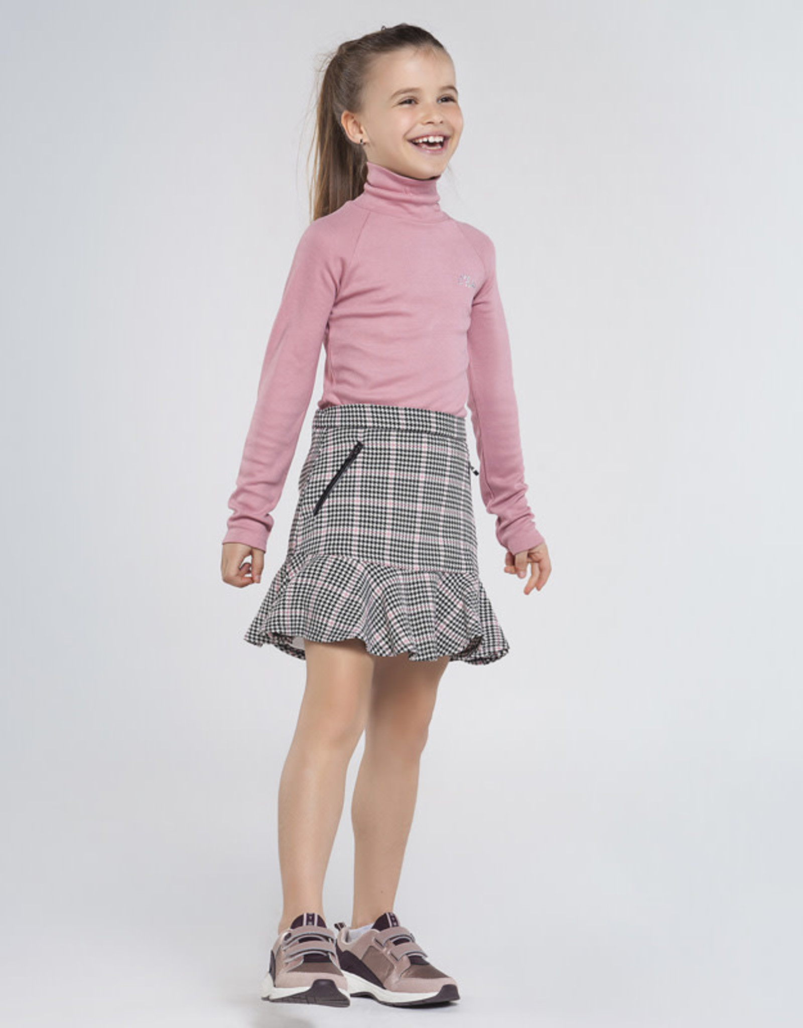 Mayoral Mayoral Houndstooth Check Skirt