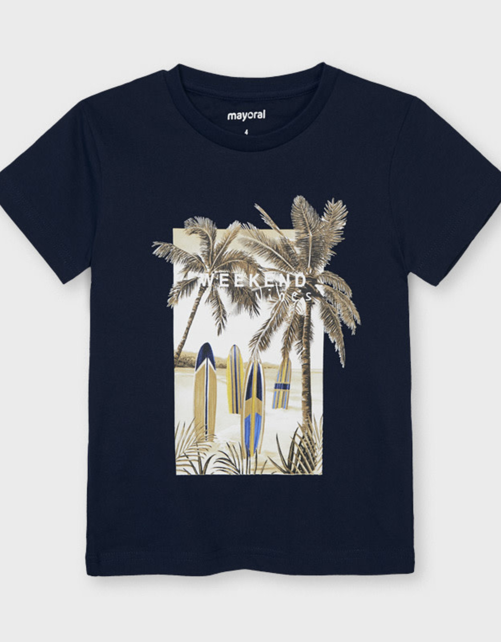 "Mayoral Mayoral ""Weekend Vibes"" T-Shirt"