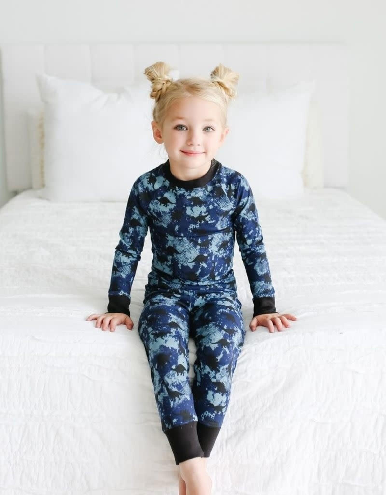 Lola & Taylor Dinosaur Kids Pajamas