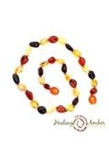 "Healing Amber Necklaces 11"" & 13"""
