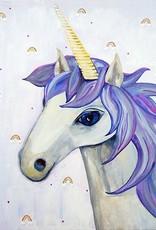 Cici Art Card Unicorn