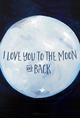 Cici Art Card Moon & Back