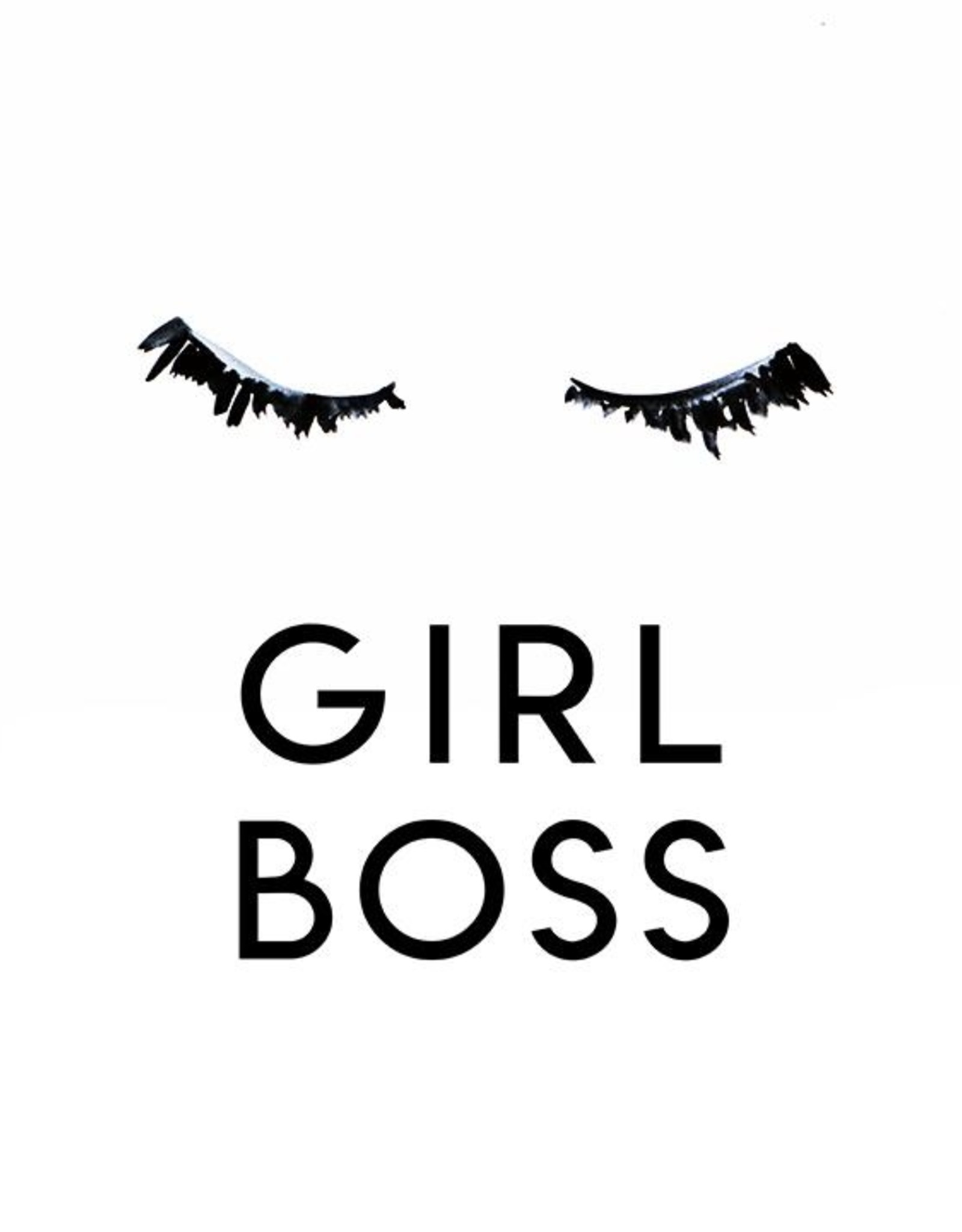 Cici Art Card Girl Boss