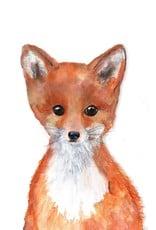 Cici Art Card Fox