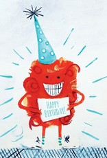 Cici Art Card Birthday Monster