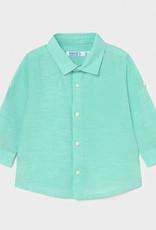 Mayoral Mayoral Baby Boy Long Sleeve Basic Linen Shirt