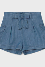 Mayoral Mayoral Baby Girl Ecofriend Bow Shorts 18 months