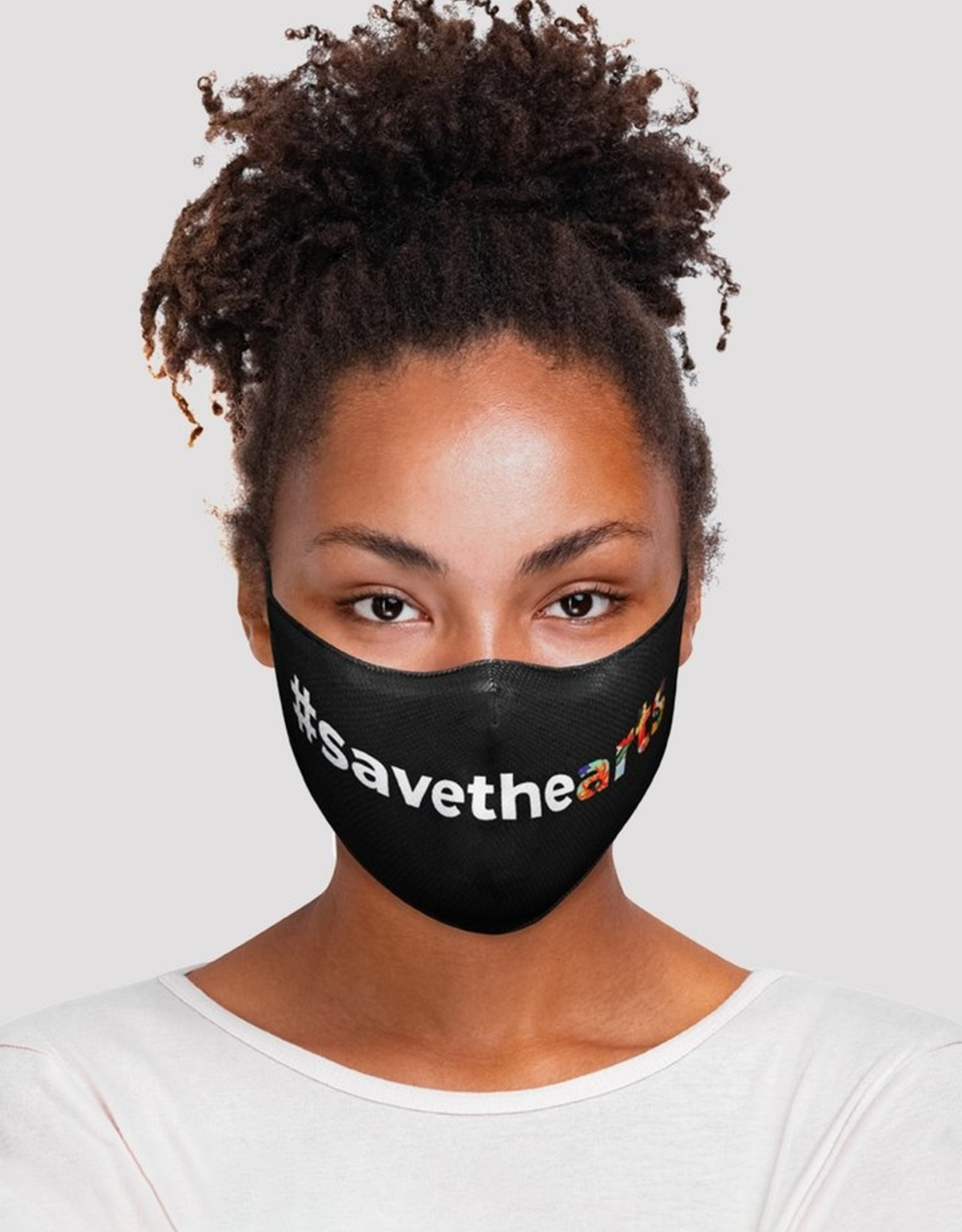 """Bloch Adult Mask """"Save The Arts"""""""