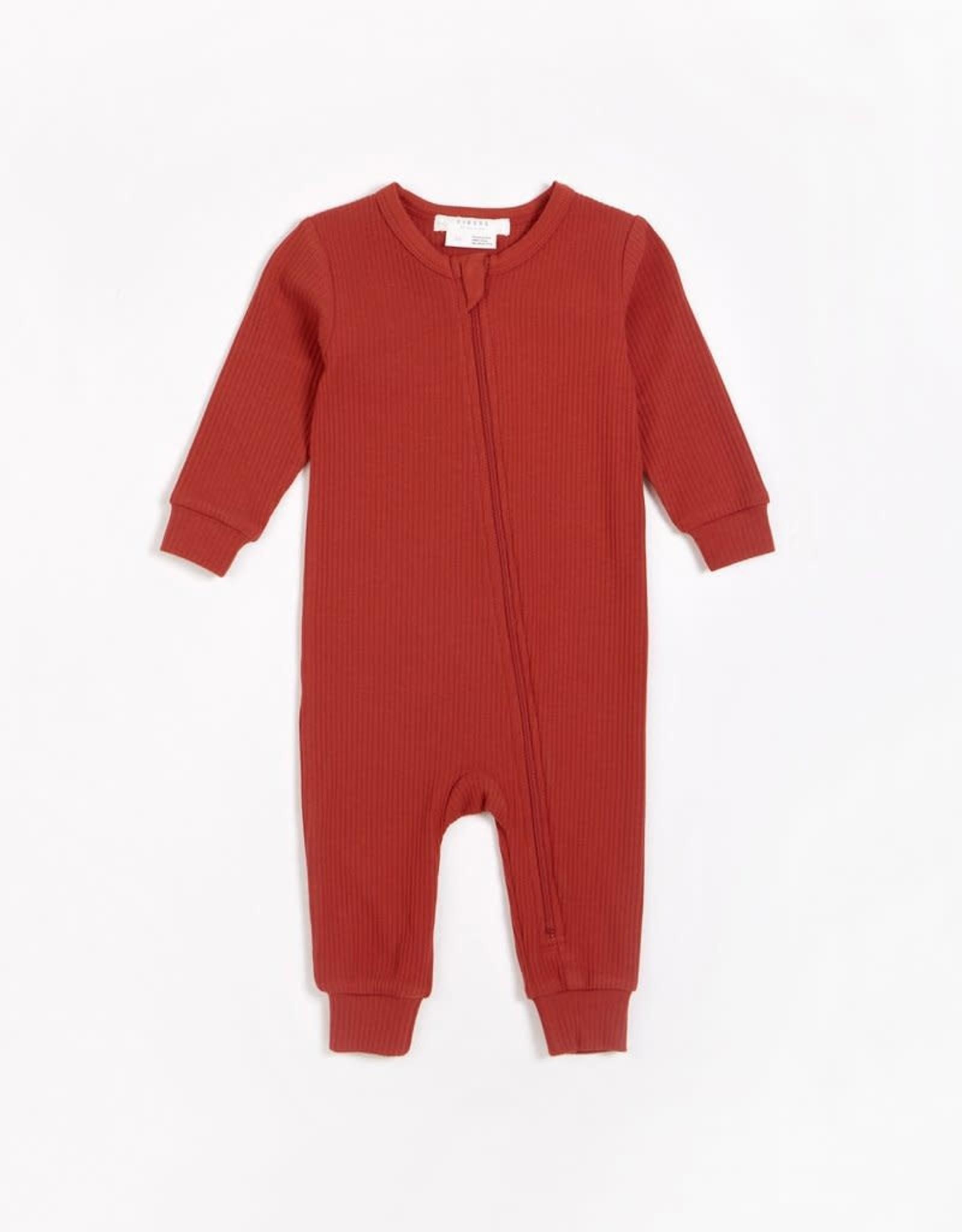 Petit Lem Petit Lem Firsts Baby Modal Rib Playsuit