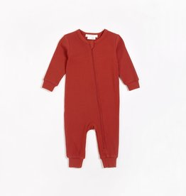 Petit Lem Petit Lem Firsts Baby Modal Rib Playsuit