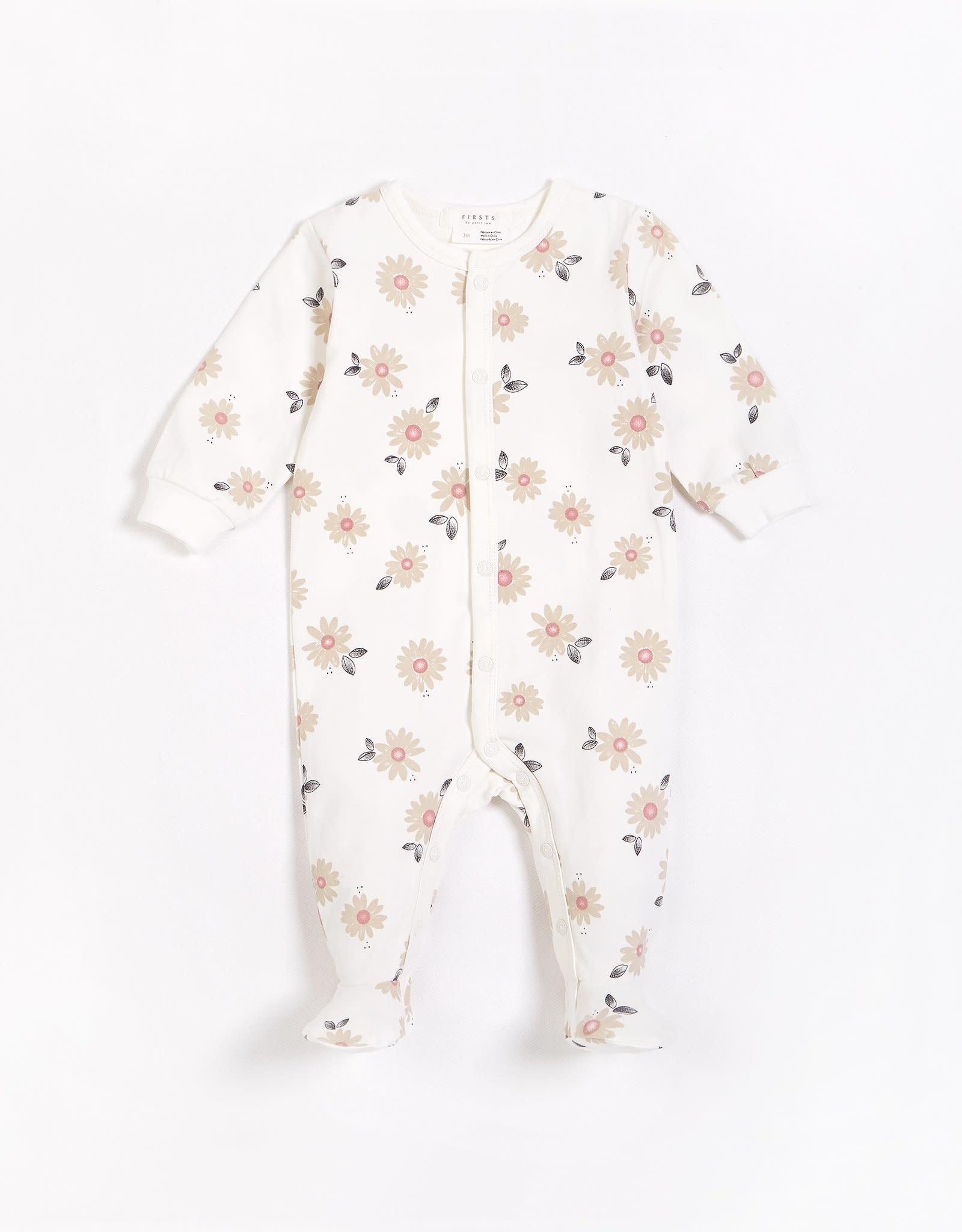 Petit Lem Petit Lem Firsts Baby Sleeper Marguerites