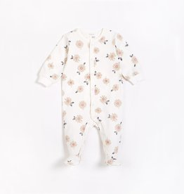 Petit Lem Petit Lem Firsts Baby Sleeper Marguerites