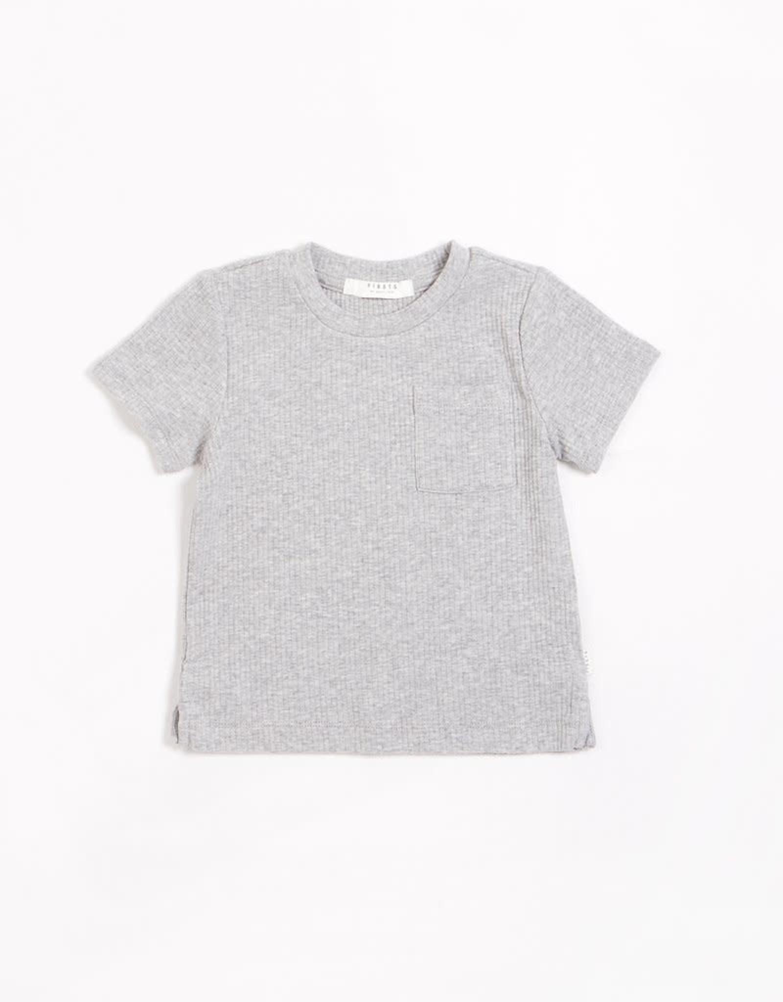 Petit Lem Petit Lem Modal Rib Knit Baby T-Shirt