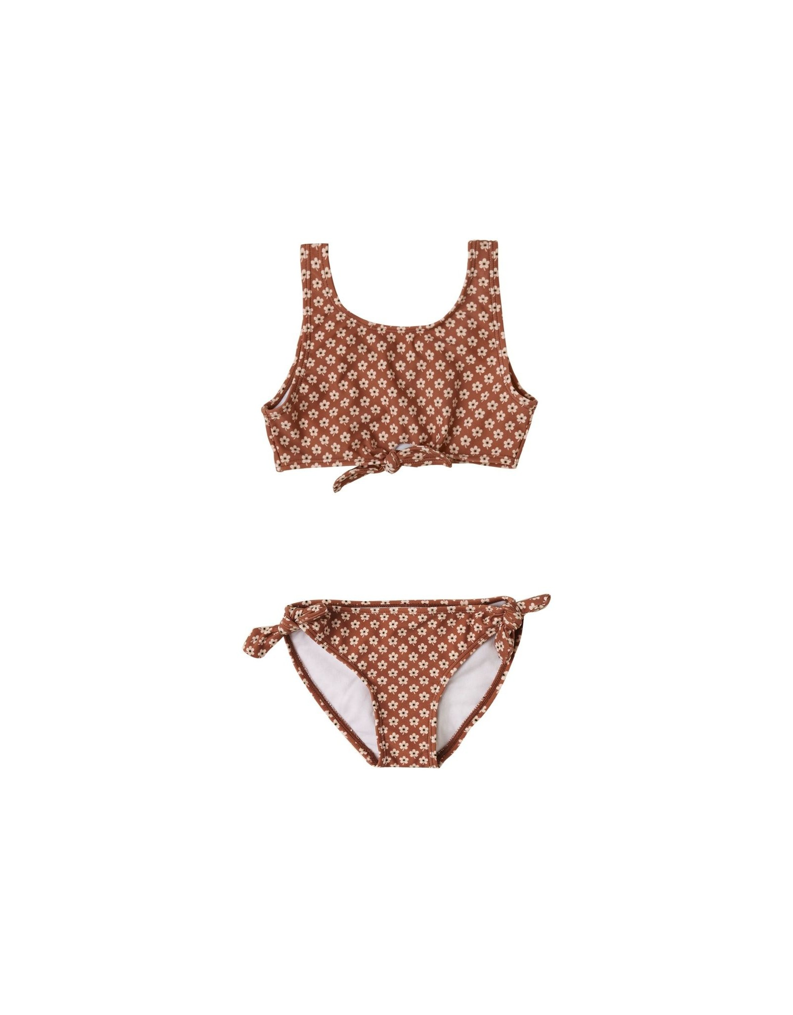 Rylee & Cru Rylee & Cru Knotted Bikini Flower Power