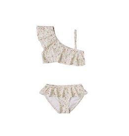 Rylee & Cru Rylee & Cru Printed Skirted Bikini Spring Meadow