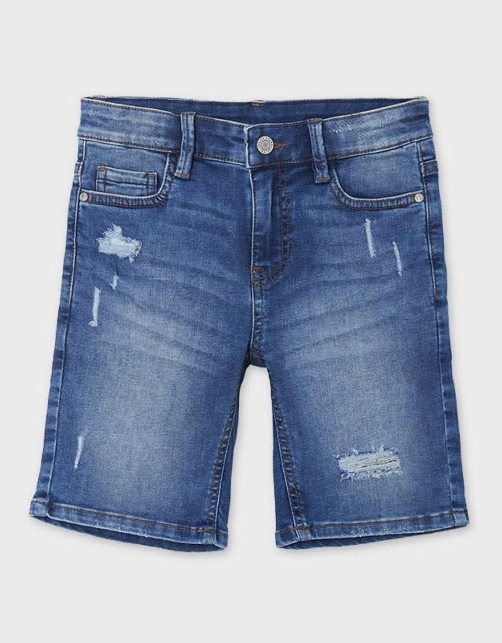 Mayoral Mayoral Ecofriends Denim Bermuda Shorts