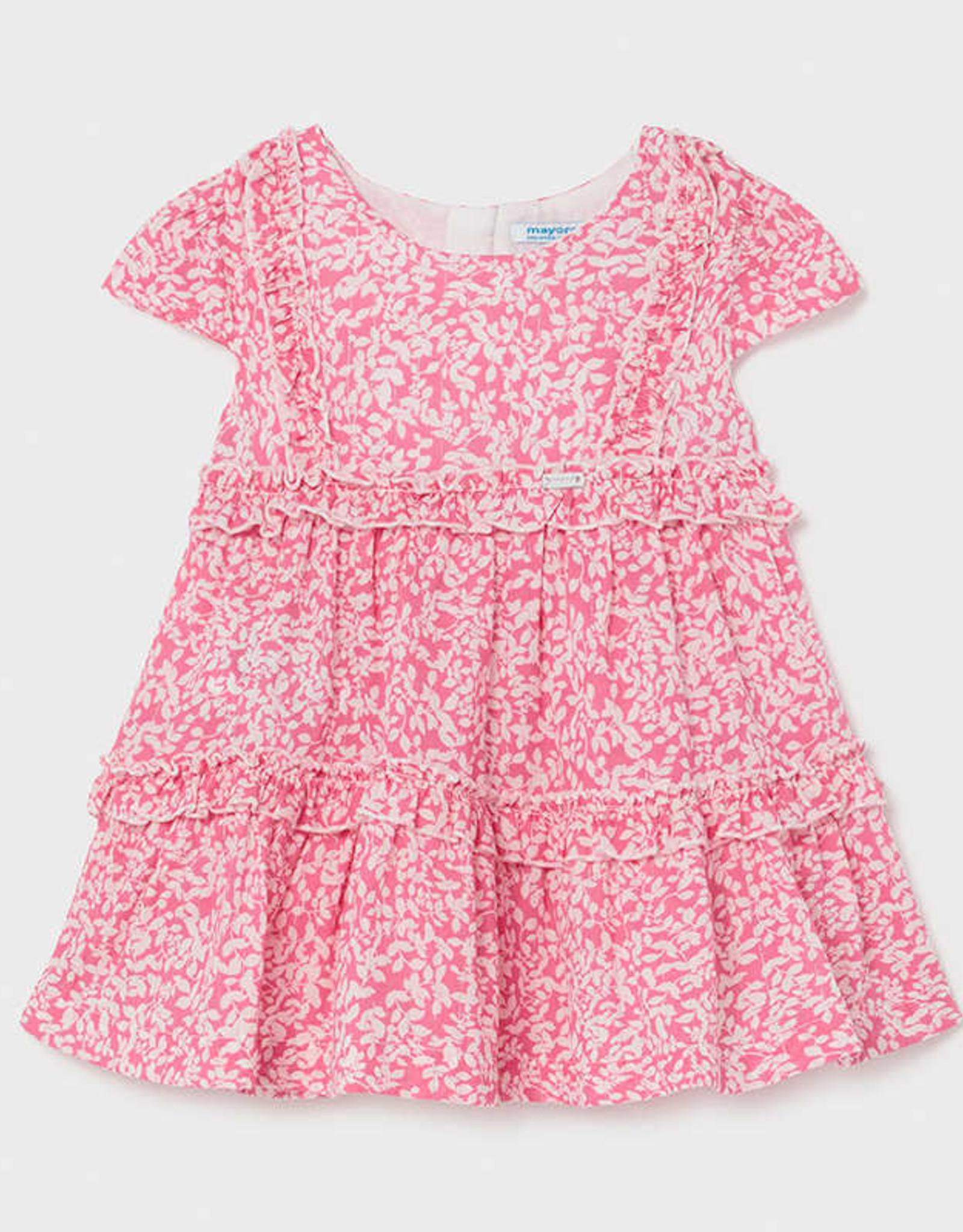 Mayoral Mayoral Baby Girl Floral Print Dress