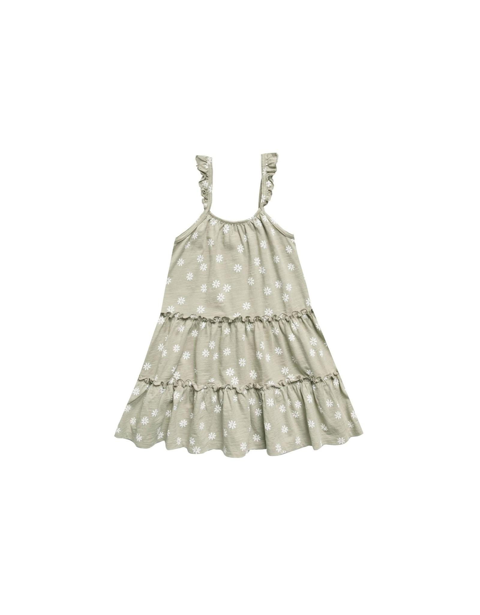 Rylee & Cru Rylee & Cru Daisy Confetti Tiered Jersey Dress