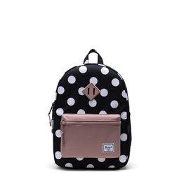Herschel Herschel Heritage Youth Backpack in Polka Dots