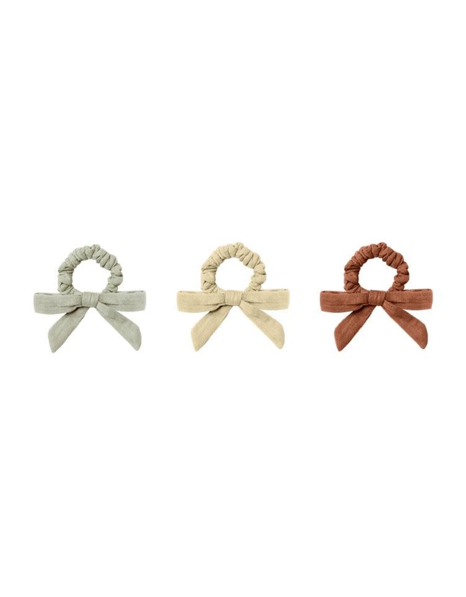 Rylee & Cru Rylee & Cru Little Bow Scrunchie Set