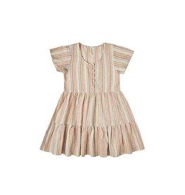Rylee & Cru Rylee & Cru Multi-Stripe Baby Doll Dress