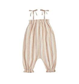 Rylee & Cru Rylee & Cru Multi-Stripe Bubble Jumpsuit