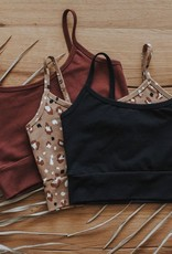 Jax & Lennon Jax & Lennon Ladies Bralette Redwood