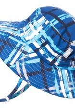 Jan & Jul Jan & Jul Blue Plaid Aqua Dry Bucket Hat