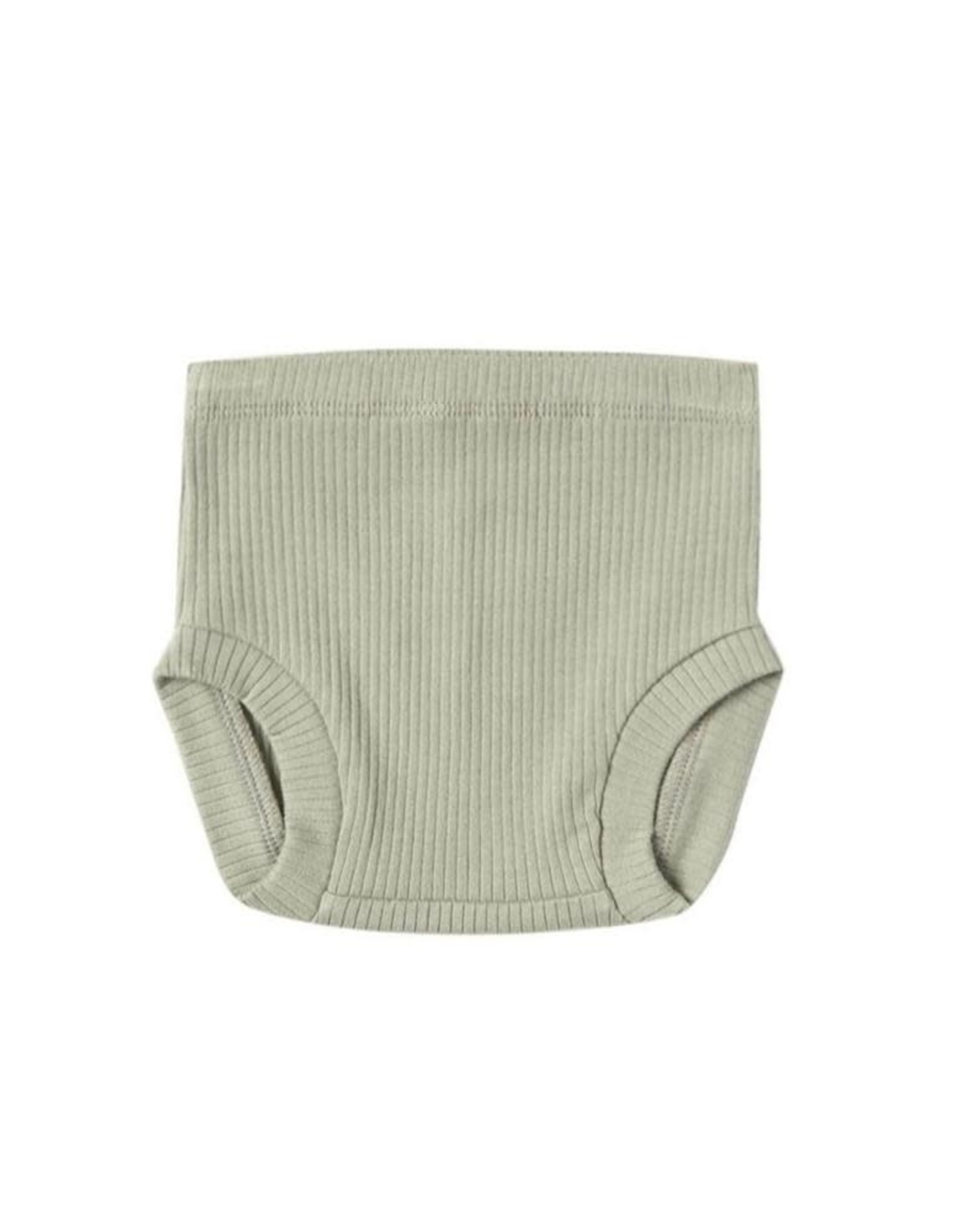 Quincy Mae Quincy Mae Ribbed Bloomer Sage
