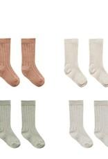 Quincy Mae Quincy Mae Baby Socks Terracota, Natural, Sage, Ash