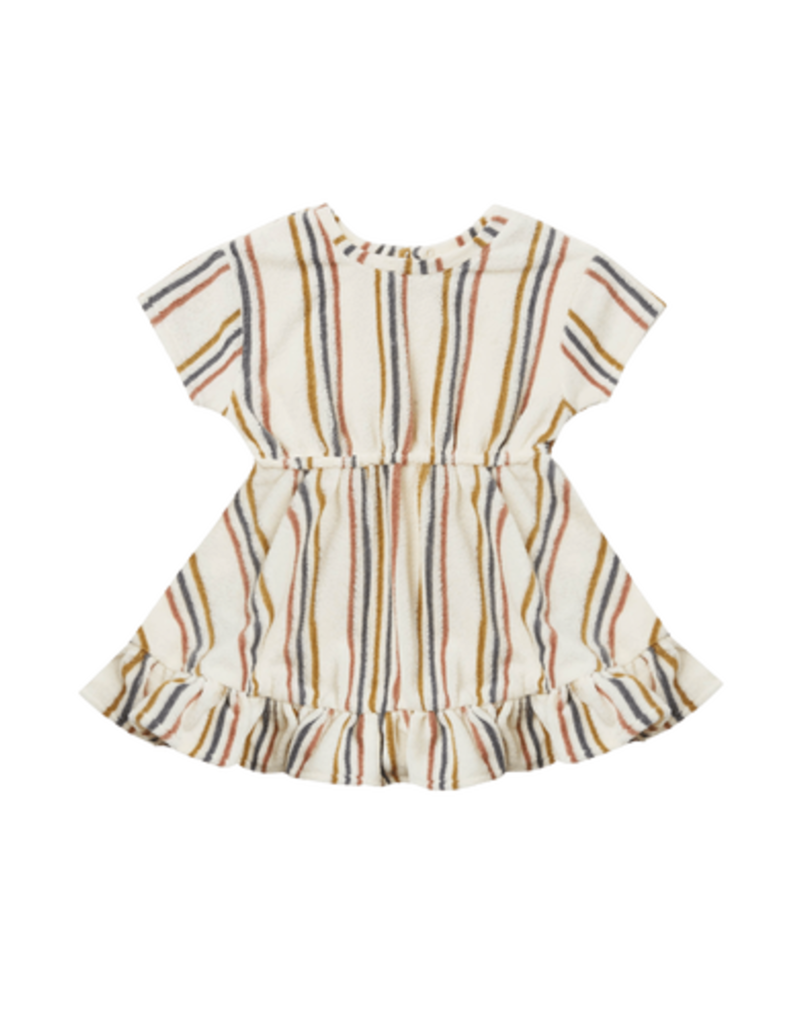 Quincy Mae Quincy Mae Terry Dress Retro Stripe