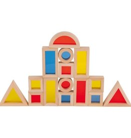 Goki Goki Building Bricks w/ Windows 21pcs