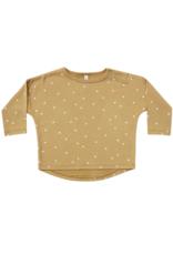 Quincy Mae Quincy Mae Long Sleeve Baby Tee Gold
