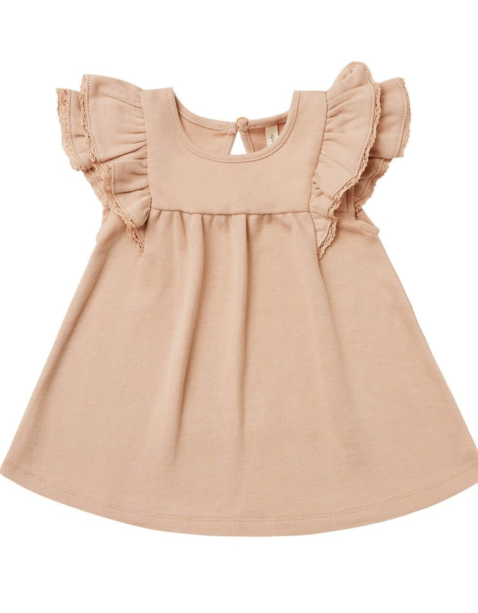 Quincy Mae Quincy Mae Flutter Dress Petal