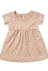 Quincy Mae Quincy Mae Short Sleeve Baby Dress Blossom / Petal