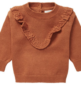 Noppies Noppies Baby Magrath Sweater Roasted Pecan