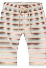 Noppies Noppies Baby Miramichi Slim Fit Pants Oatmeal Stripe