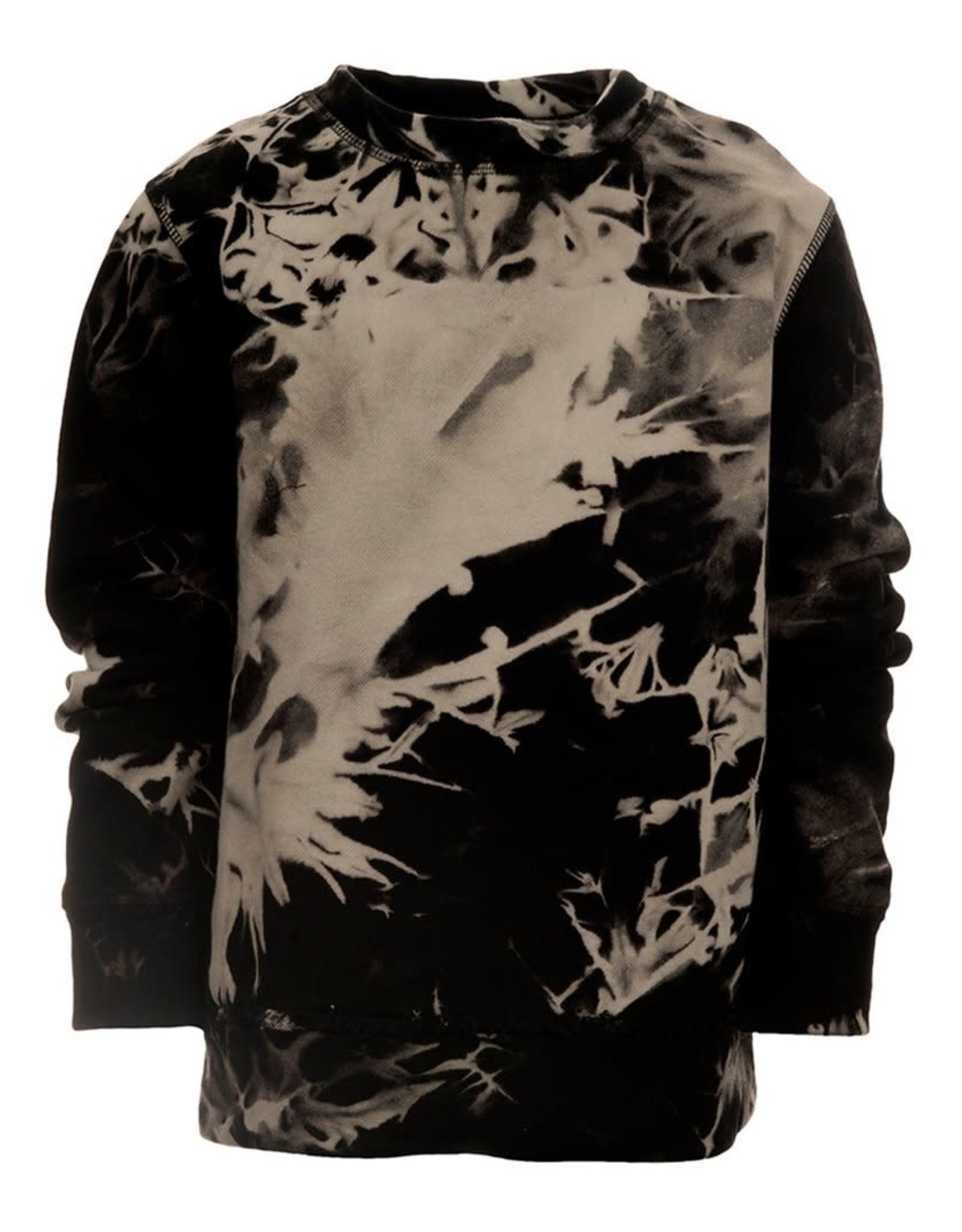 Appaman Appaman Boys Black Marble Highland Sweatshirt