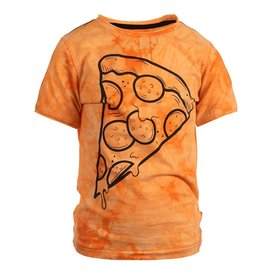 Appaman Appaman Boys Pizza Slice Orange Tie Dye Graphic Tee