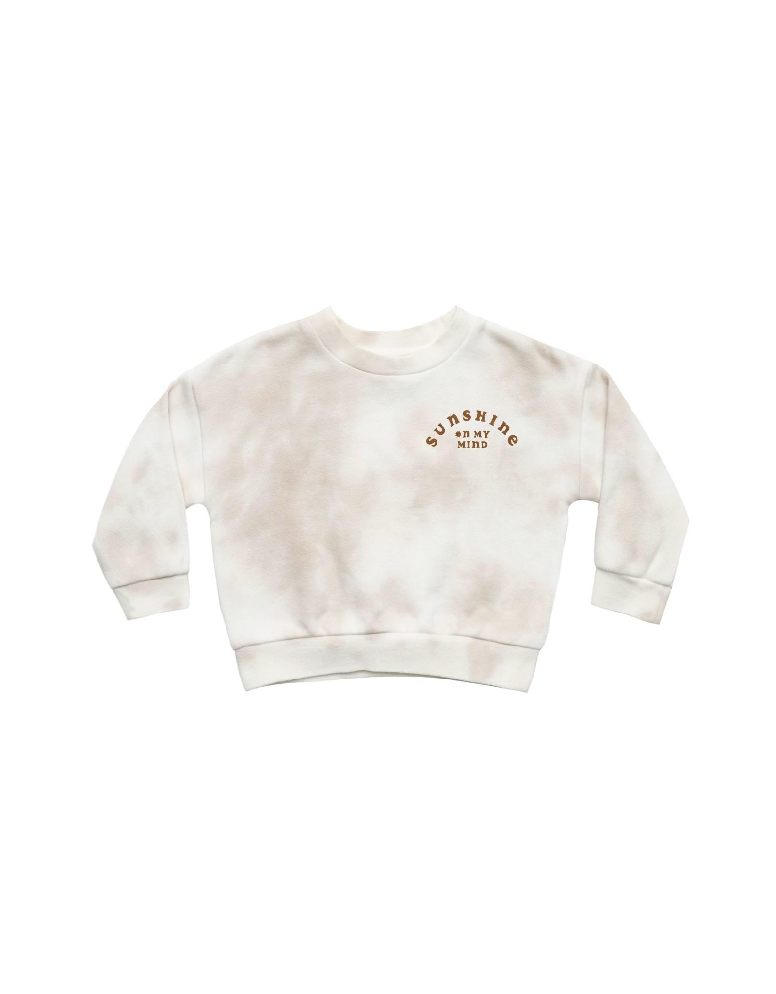 Rylee & Cru Rylee & Cru Tie Dye Fleece Sweatshirt