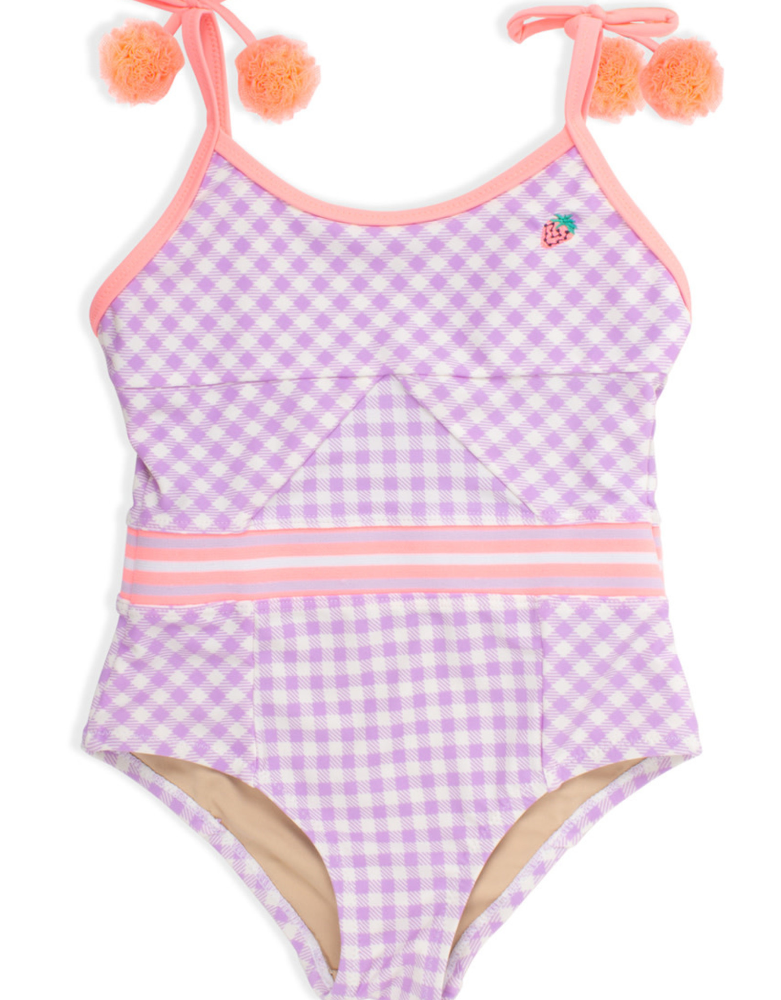 Shade Critters Shade Critters One Piece Cutout Back Gingham