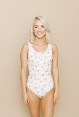 Imagine Perry Imagine Perry Ladies One Piece Floral